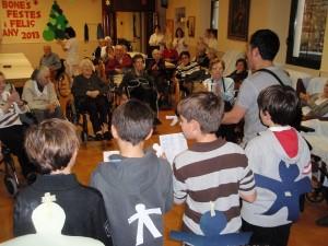 Nadales a la residència geriàtrica